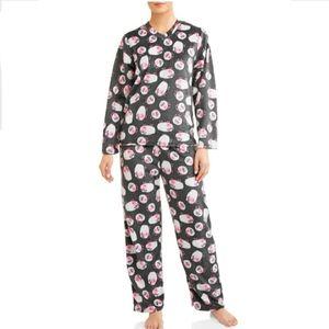 NWOT Mayfair Women's Minky Fleece 2-pc. Pajama Set